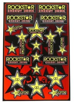 Planche stickers Rockstar