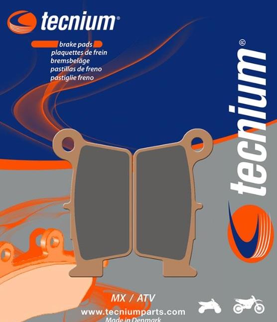 Plaquettes de frein arriere Tecnium Racing