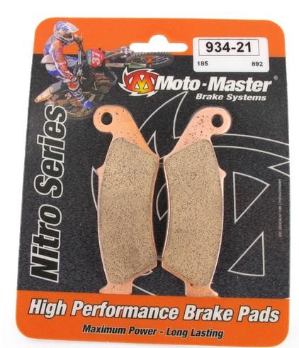 Plaquettes frein avant Moto Master Racing GP