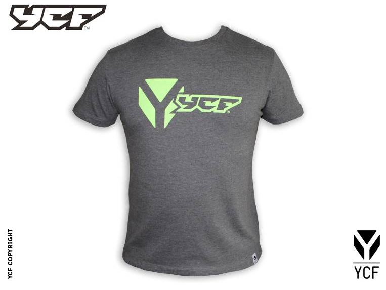 T-Shirt Manches Courtes YCF Gris